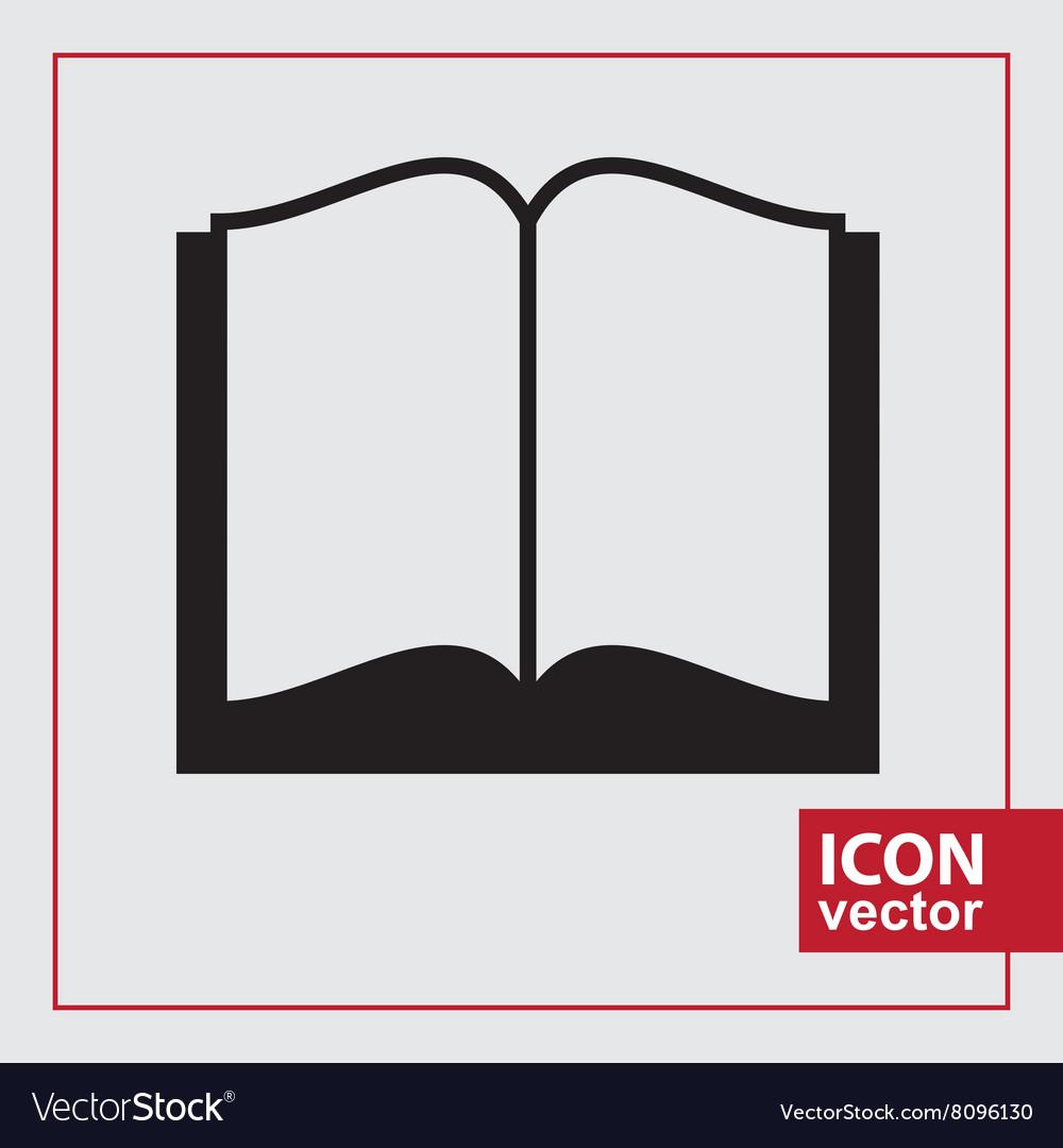 Book Simple Icon vector image