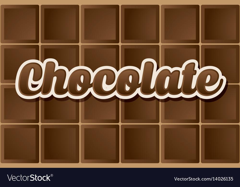 Dark chocolate type