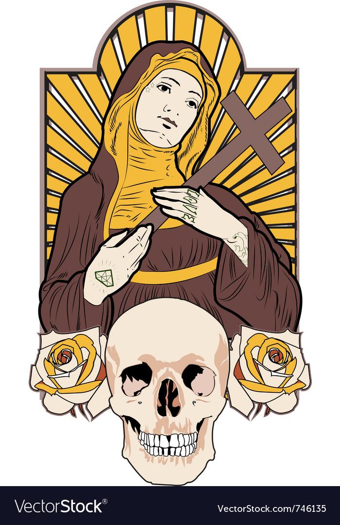 Saint tattoo