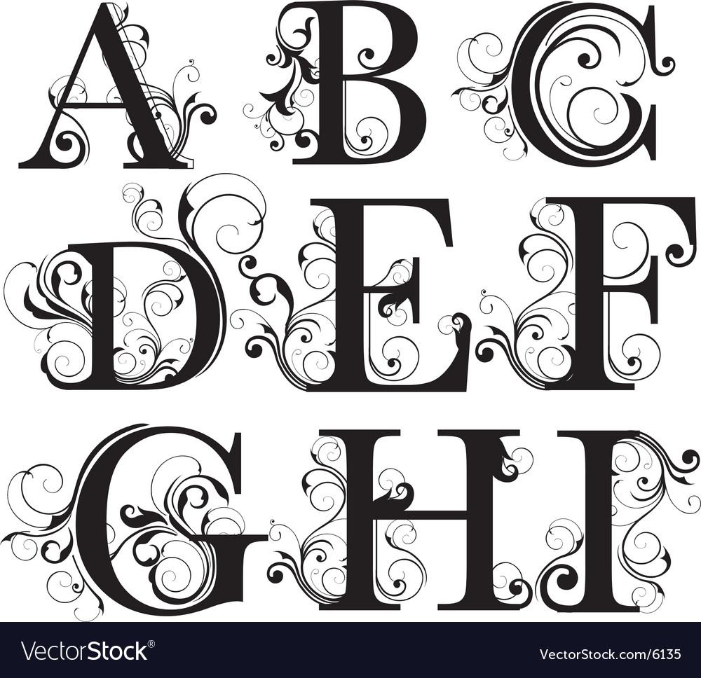Script capitals