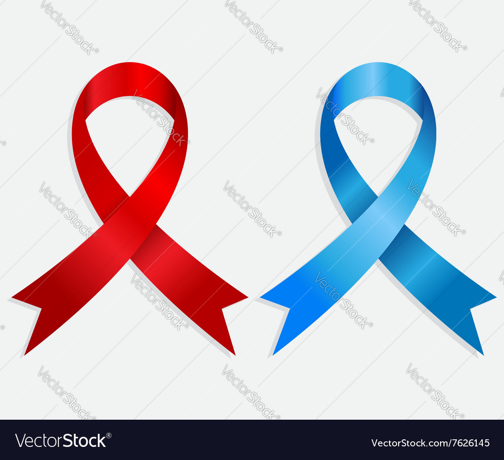 Breast Cancer Awareness Ribbon Isolate Background