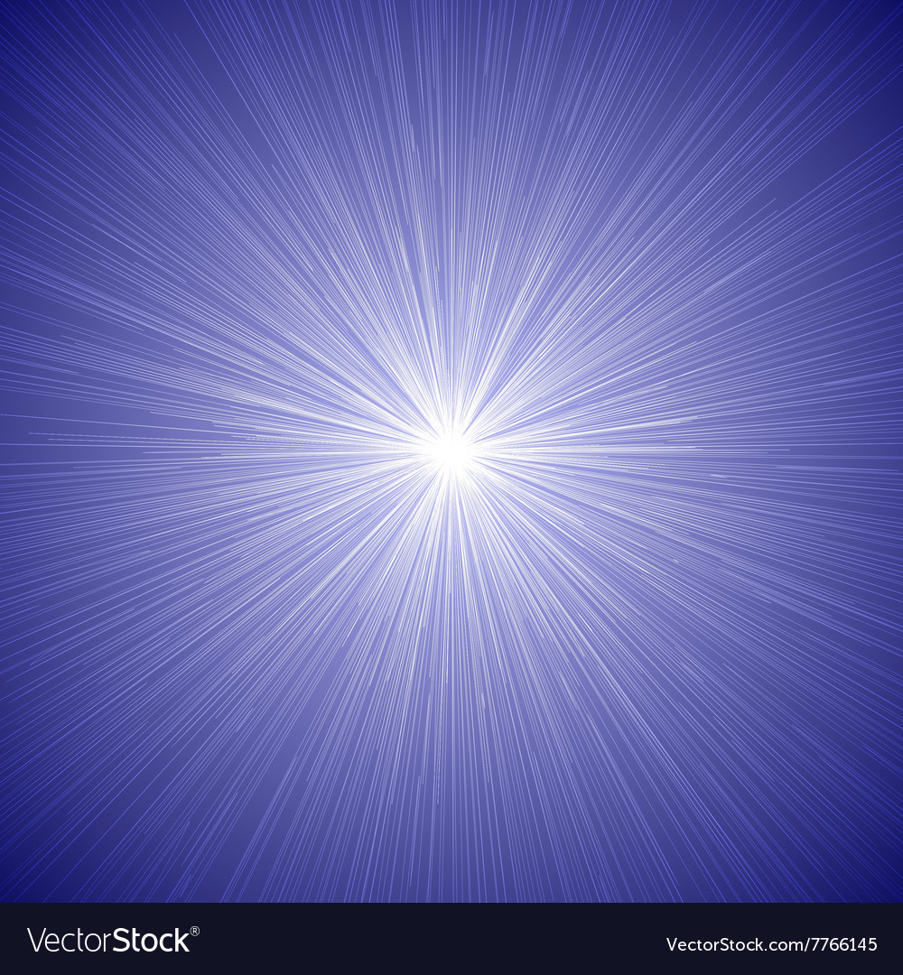 Radial speed lines graphic effects background blue