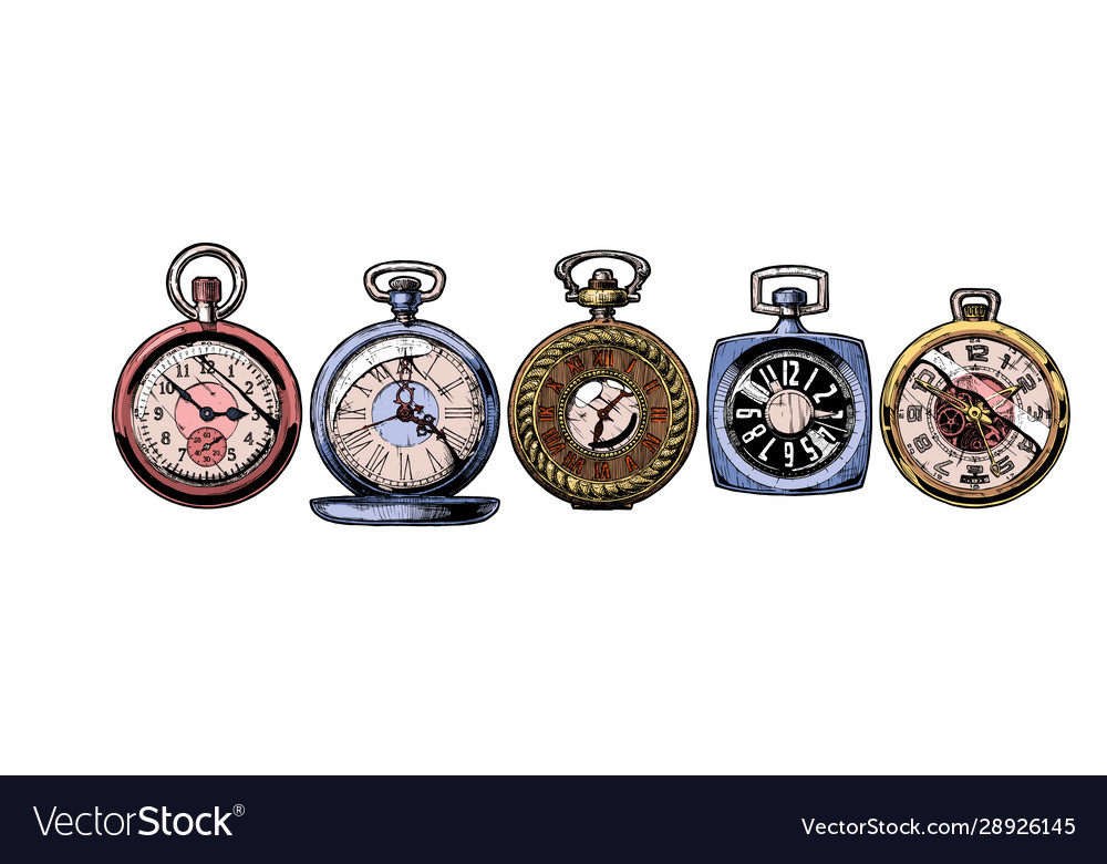Set pocket watches
