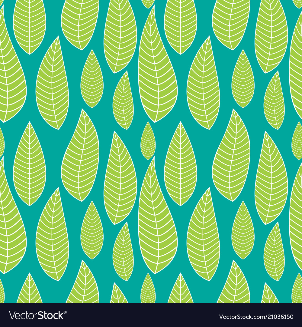 Abstract natural seamless background with leaves