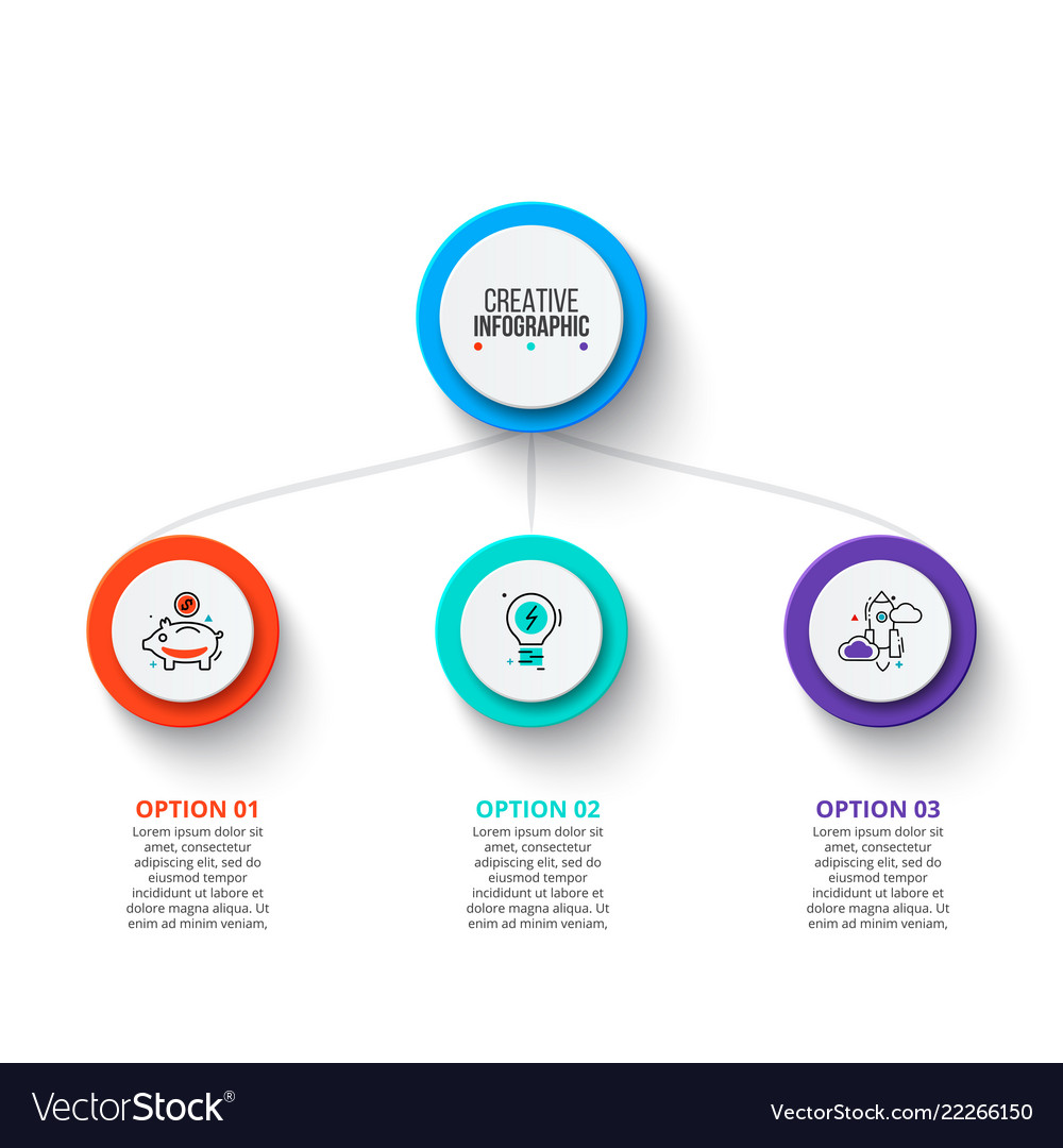 Business data visualization abstract elements of