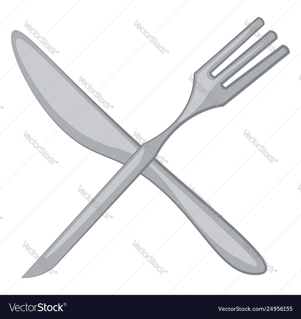 Clipart Fork And Knife Or Color