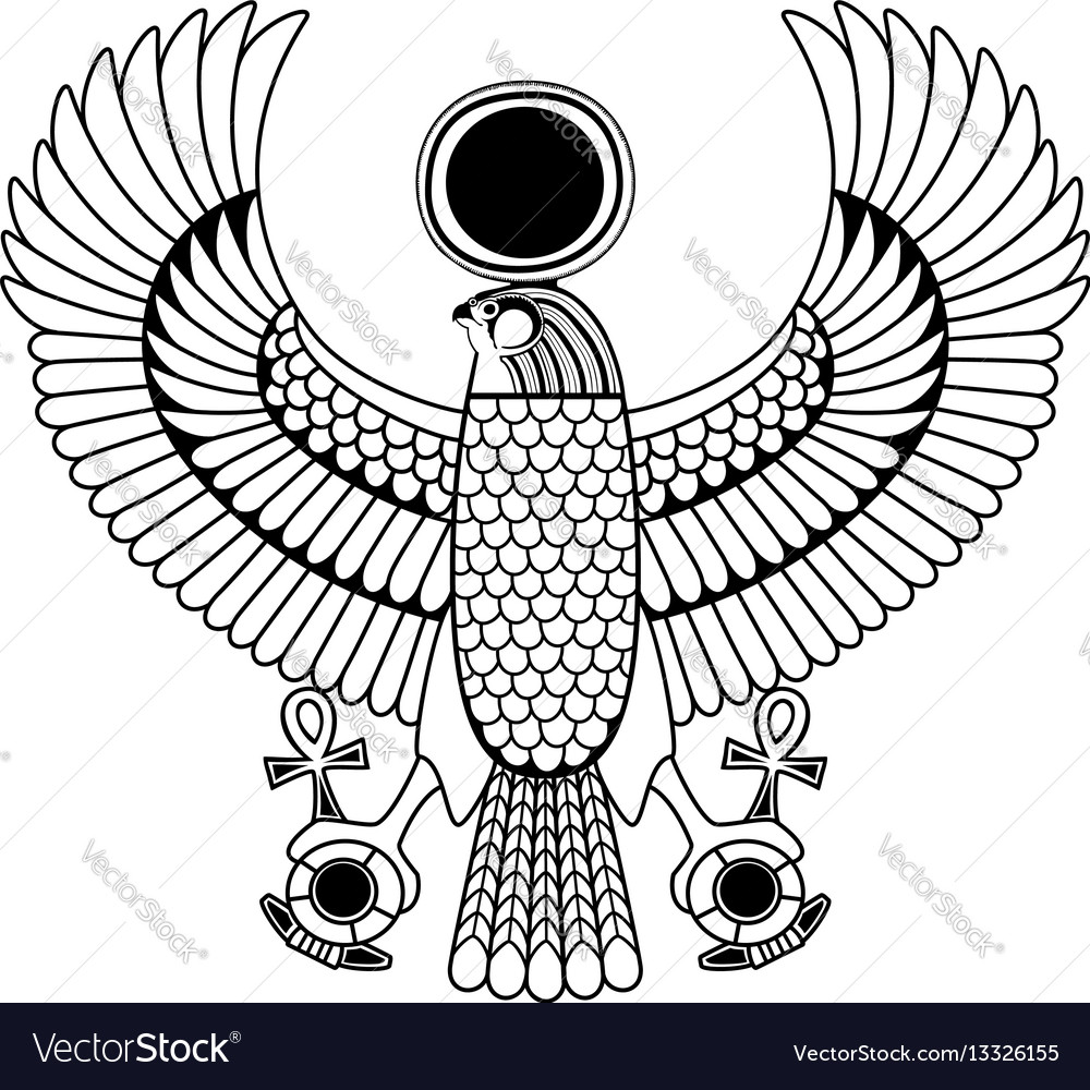 Egyptian Ancient Symbol Royalty Free Vector Image