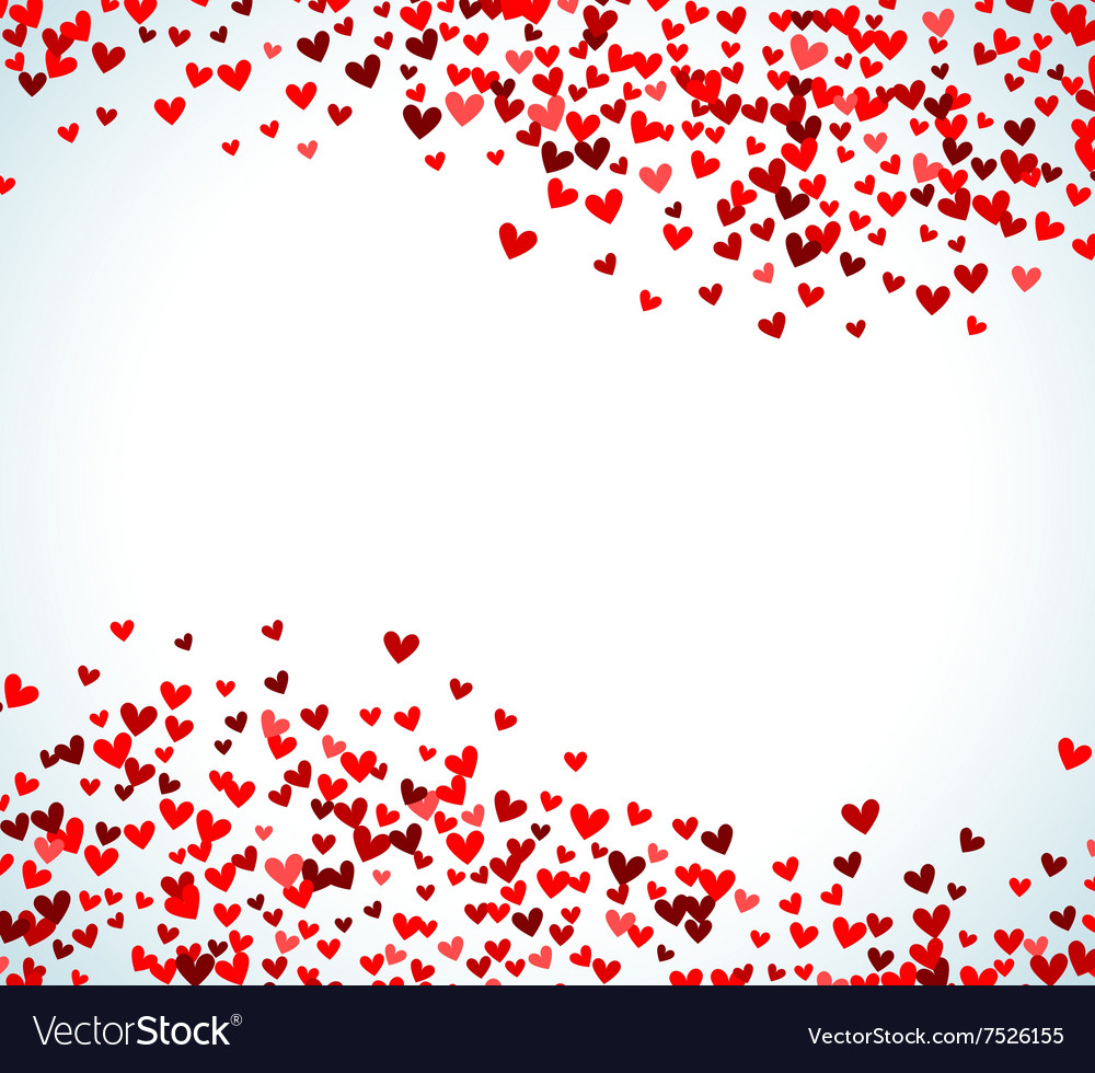romantic red heart background royalty free vector image rh vectorstock com red heart transparent background red heart background images