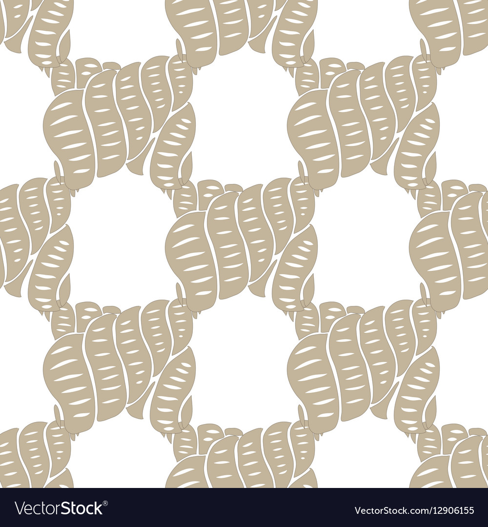 Sea ocean pattern watercolor shells background