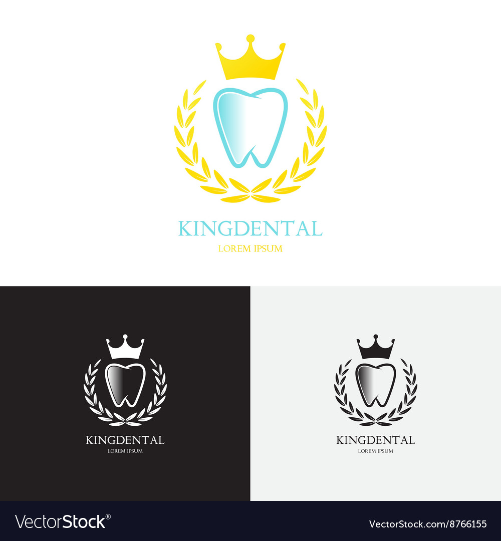 Template Of Logo Of Dental Clinic Royalty Free Vector Image