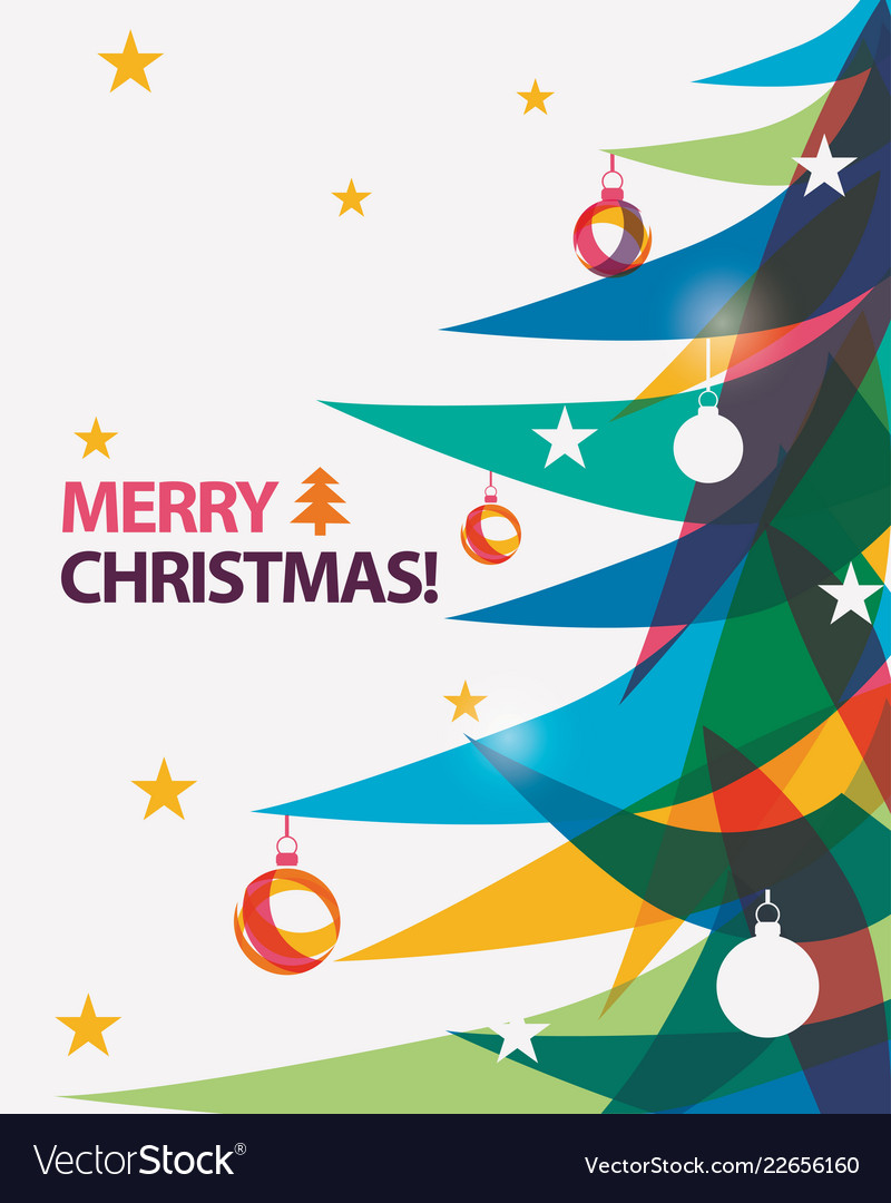 Merry Christmas Images Free.Merry Christmas Card In Modern