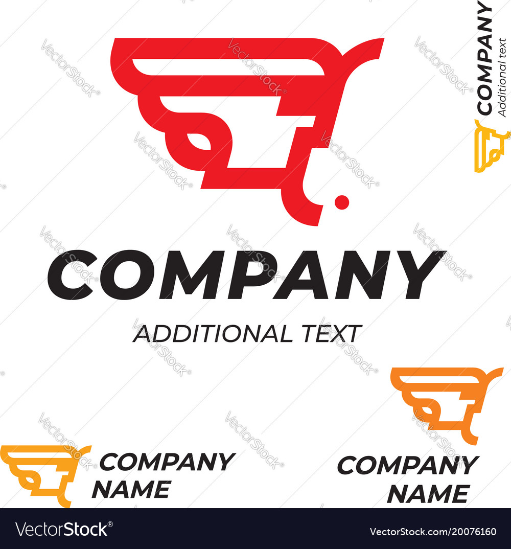 Pharaoh logo modern simple and clean identity vector image