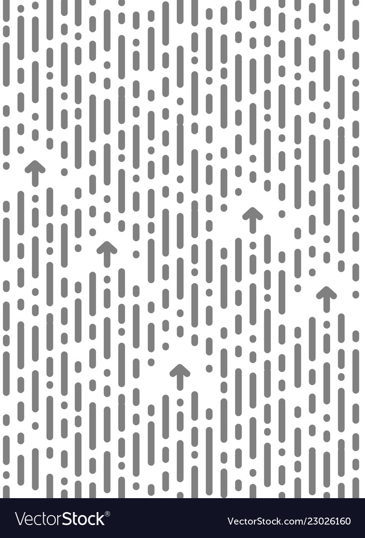 Seamless chaotic pattern vertical stripe and dots