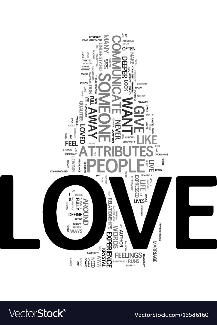 You can have love that never ends text word cloud