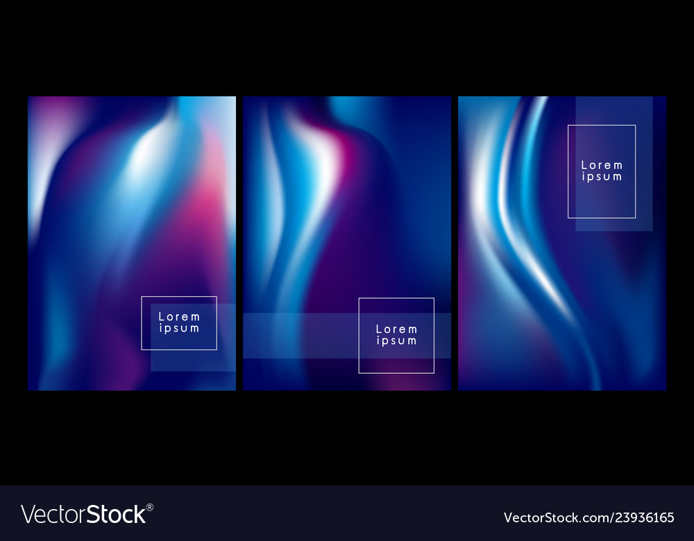 Abstract color flow background