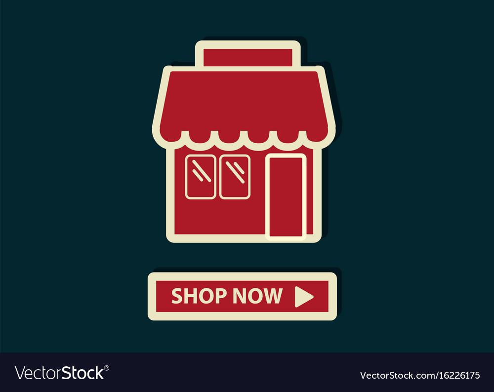 Concept of online shopping shop online store web