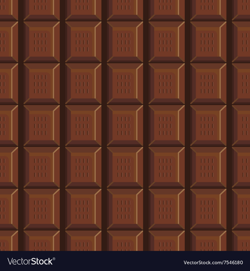 Seamless pattern with chocolate texture-4 Vector Image