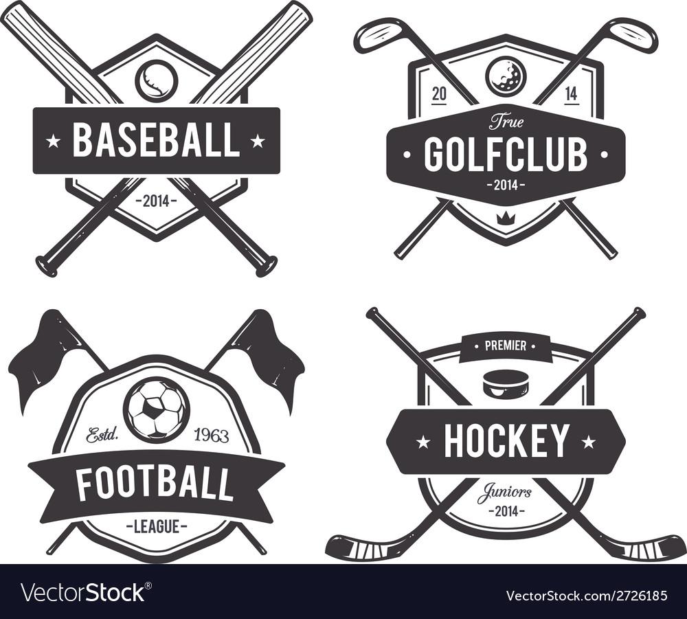 Sport Emblems 1