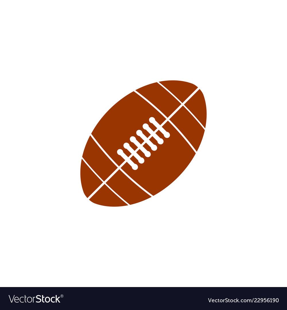 American football graphic design template