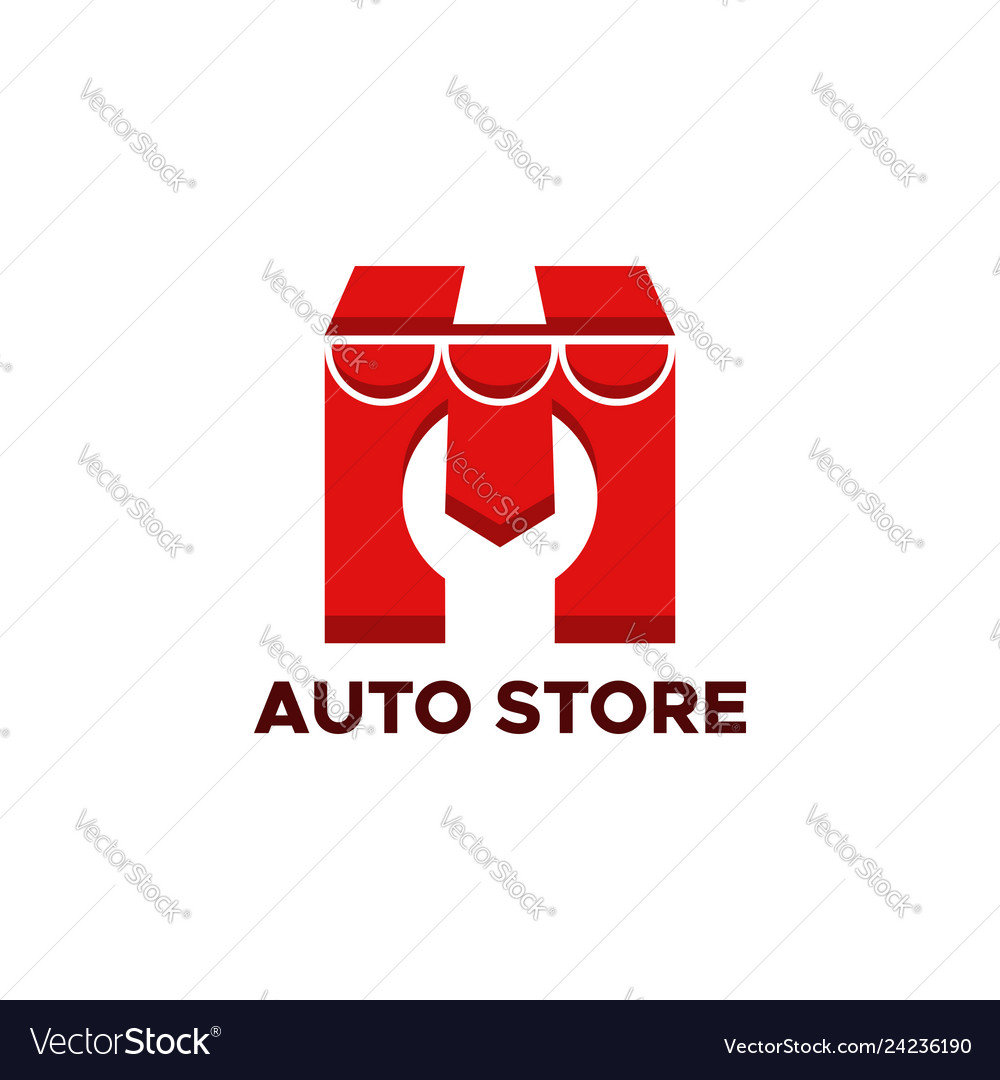 Auto store logo