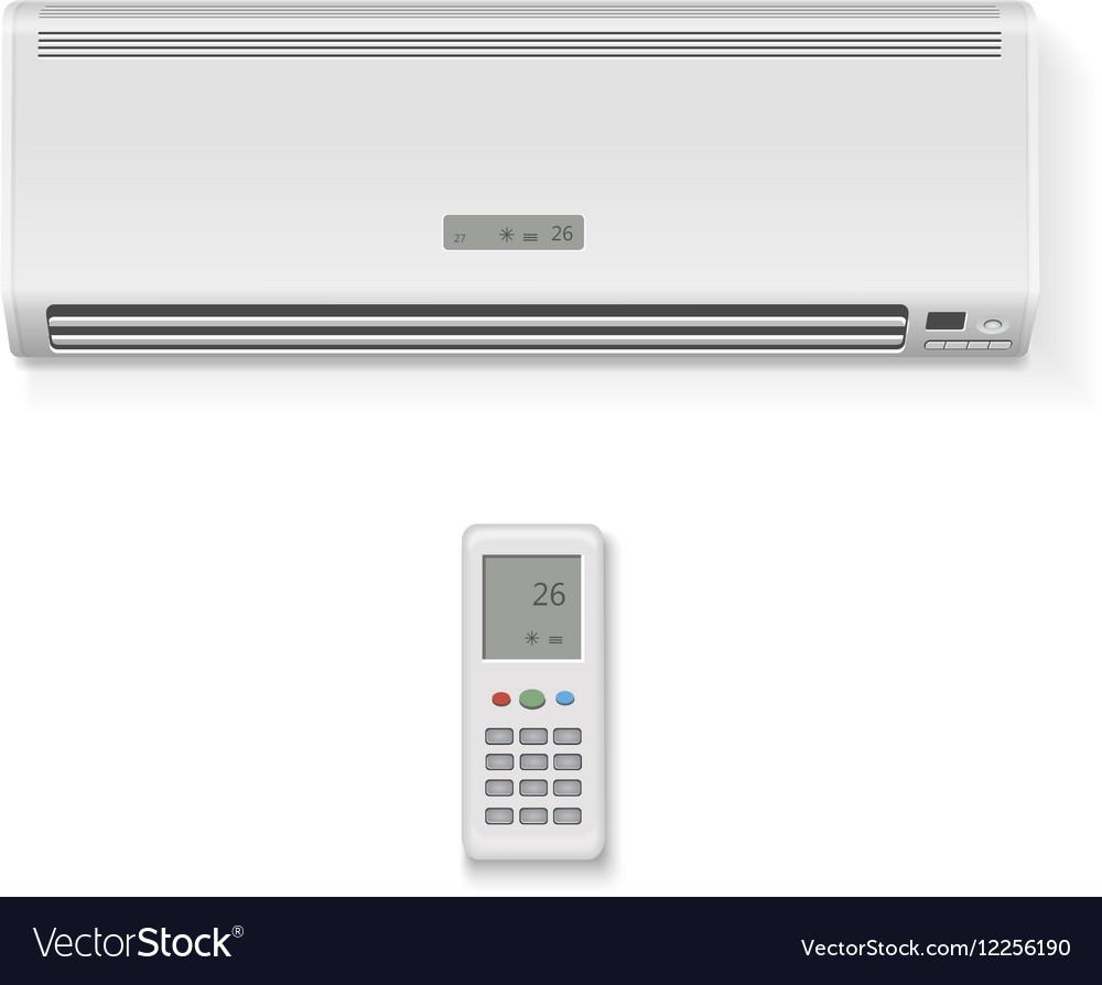 Split system air conditioner remote controller