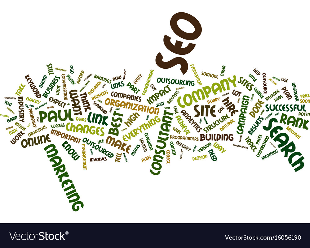 The case against outsourced seo text background