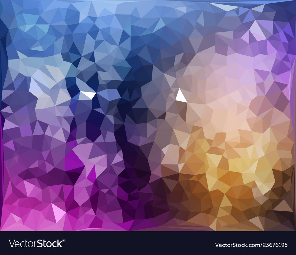 Abstract pattern of geometric shapes colorful