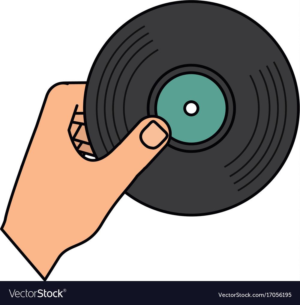 Vinyl music symbol