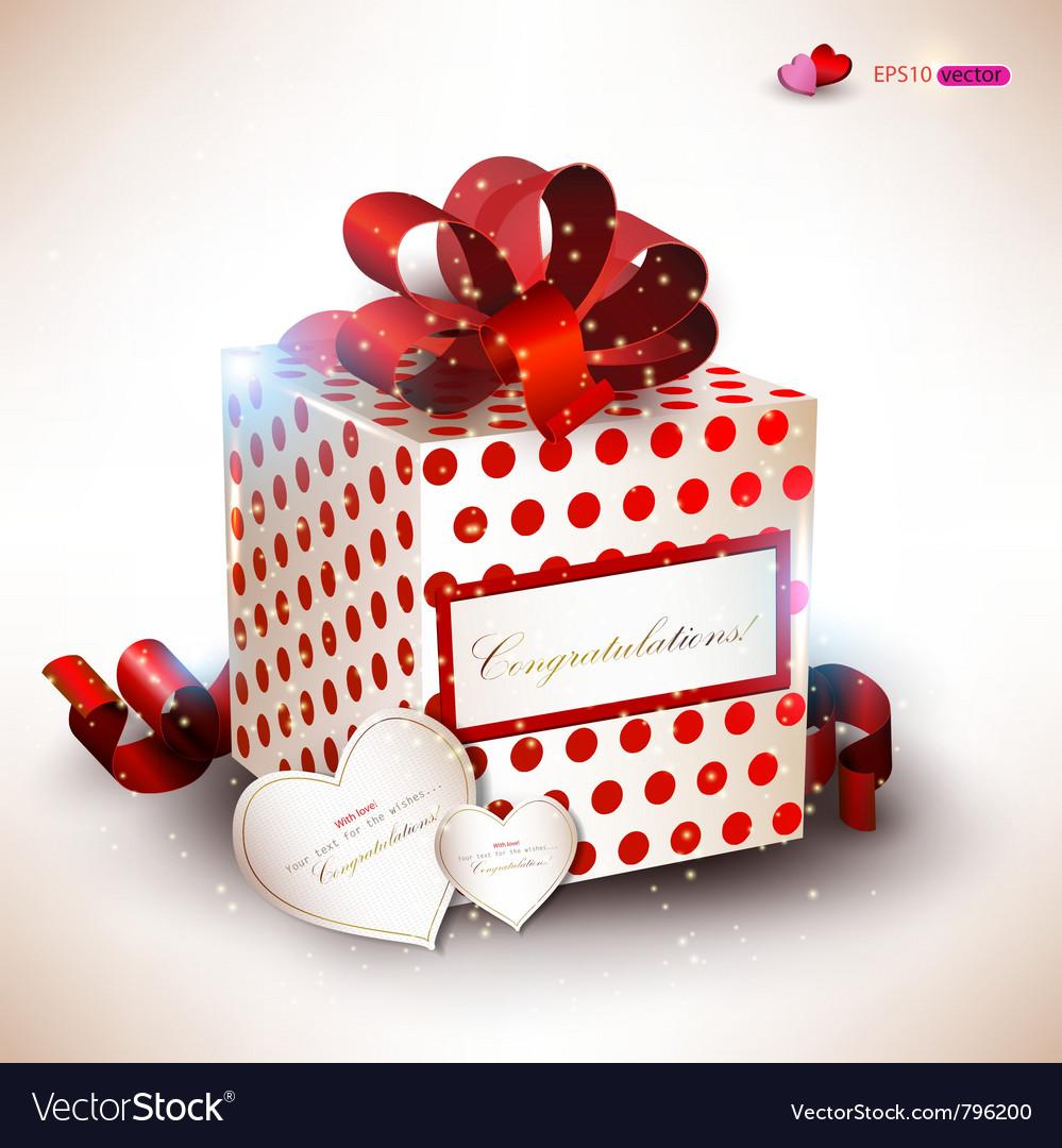 Elegant valentines gift