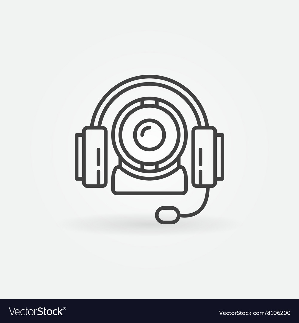 Online communication icon vector image