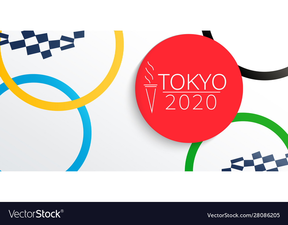 Banner for 2020 olympic and paralympic games