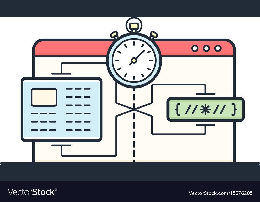 Website speed loading time