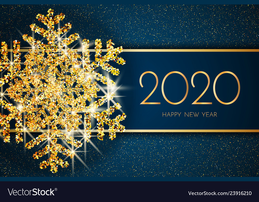 Happy new year 2020 greeting card images