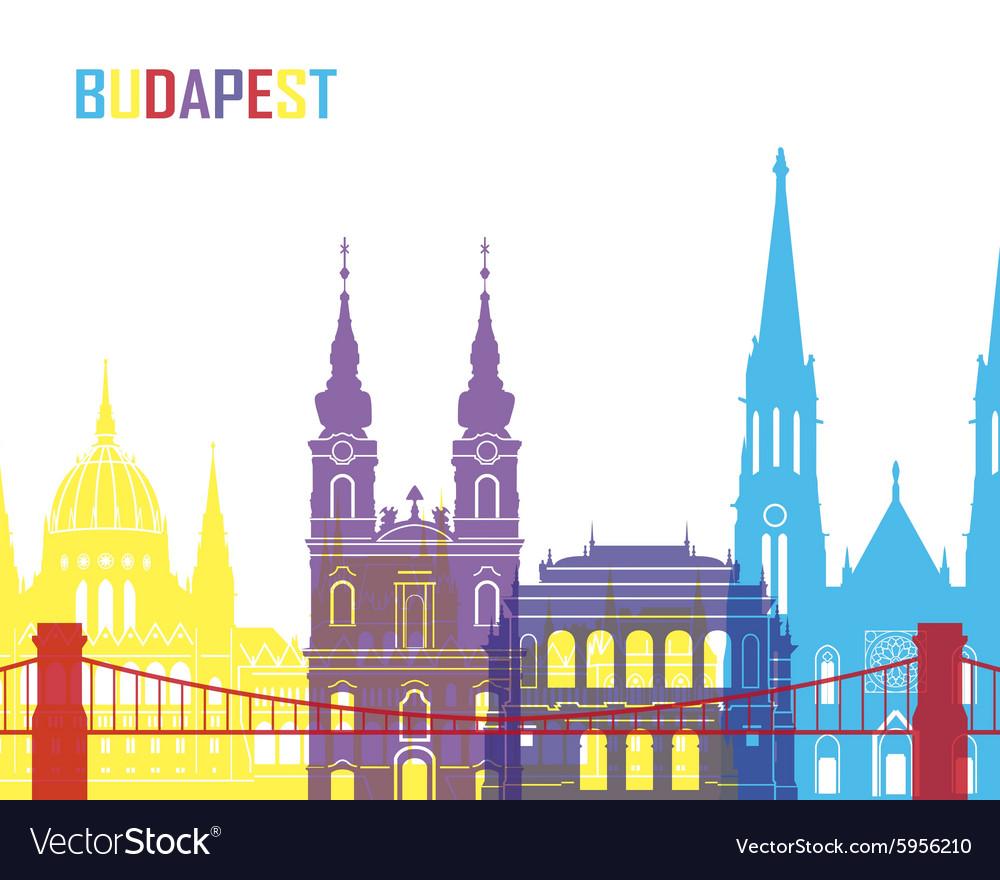 Budapest skyline pop