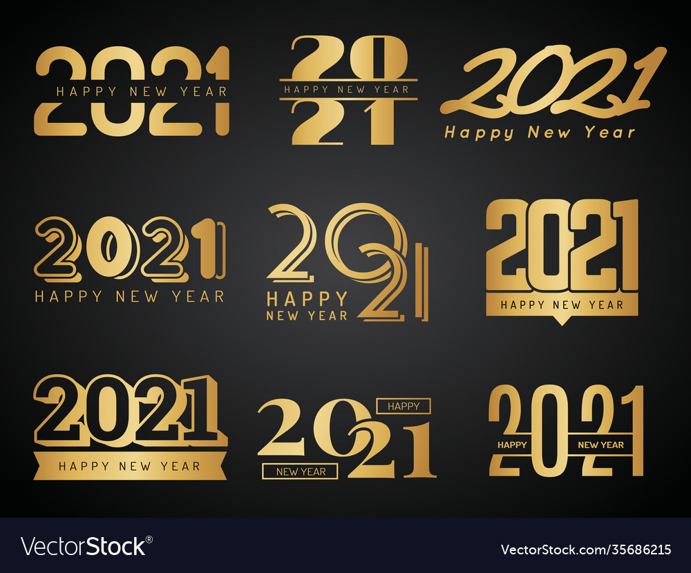 2021 logo graphic design calendar lettering