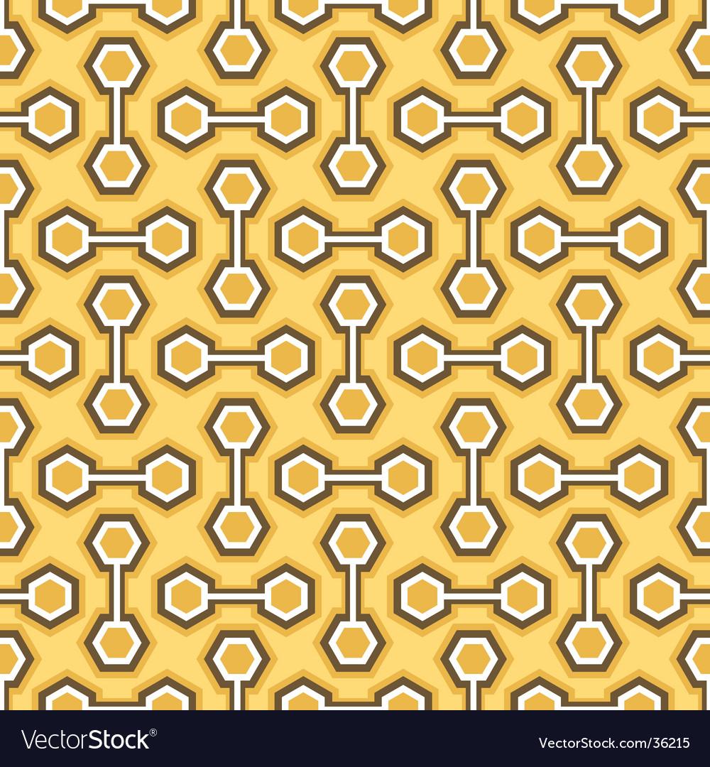 Hex link vector image