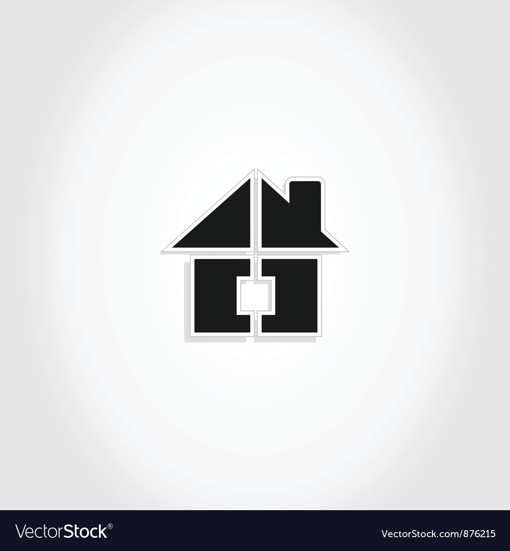Small house2 vector image