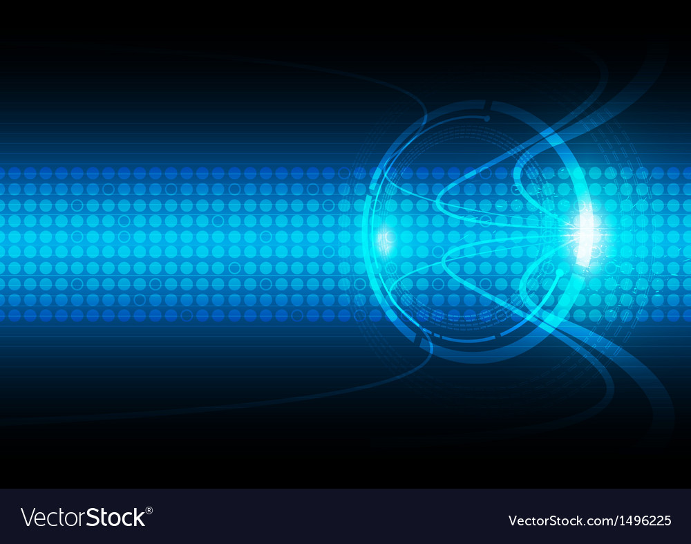Abstract communication technology background vector image