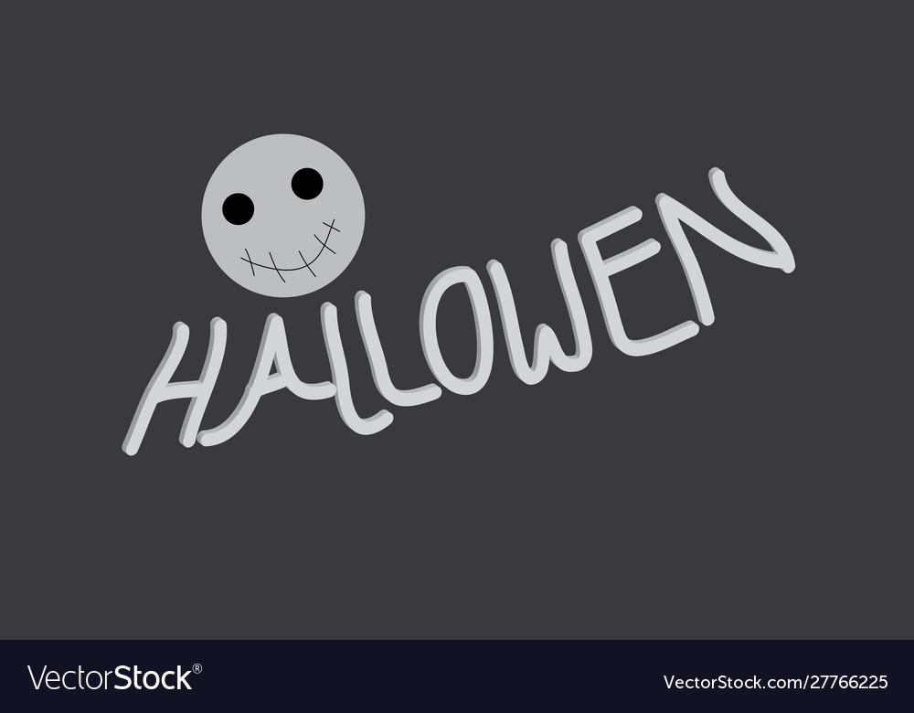 Hallowen text
