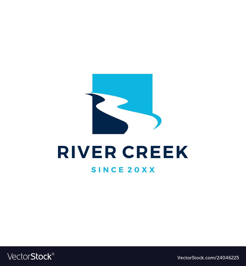 River creek logo icon