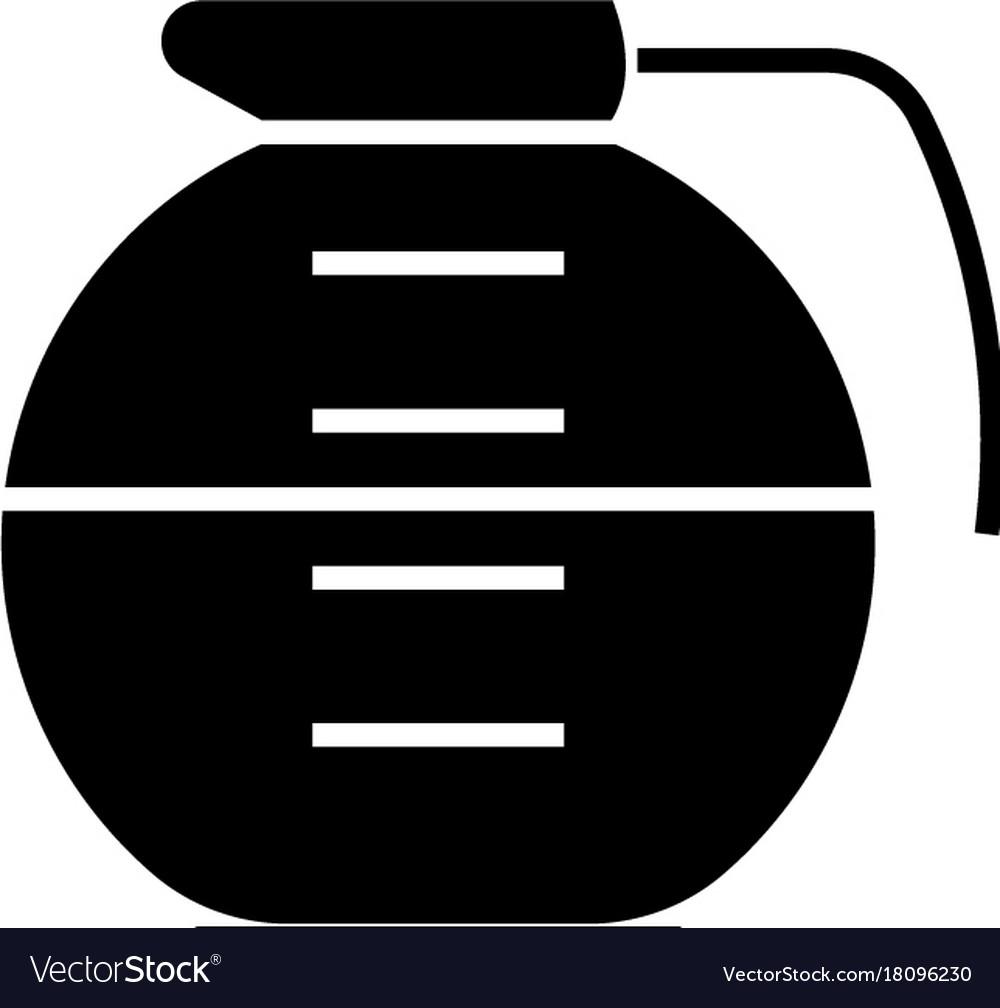 Beverage drinks pot icon