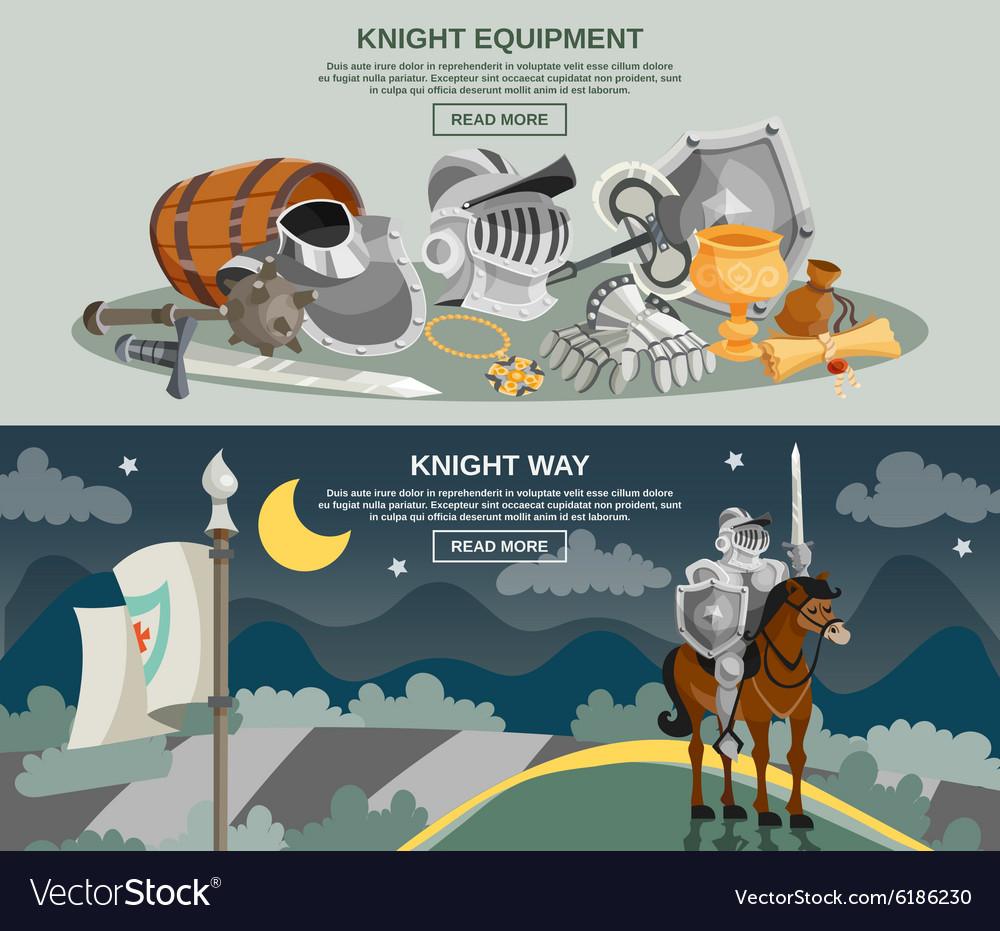 Knight Banner Set
