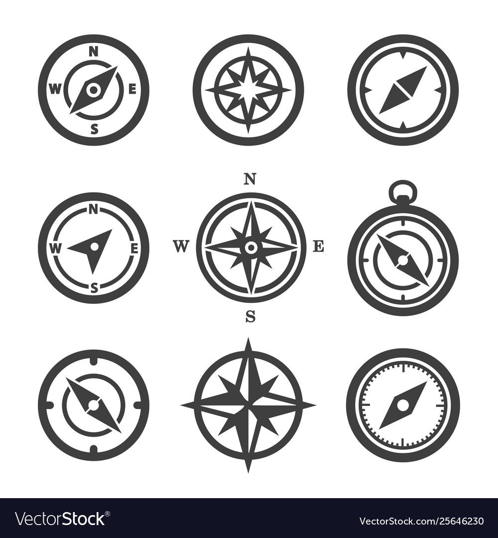 Set compass icons