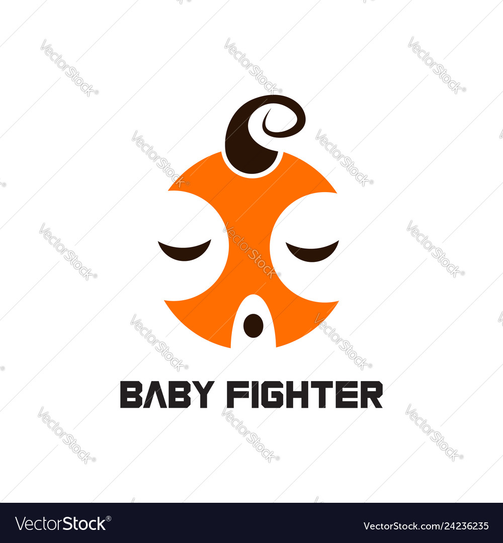 Baby fighter logo