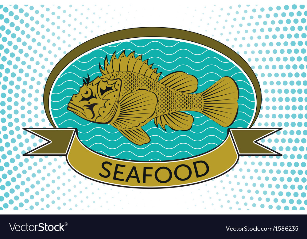 Fish label