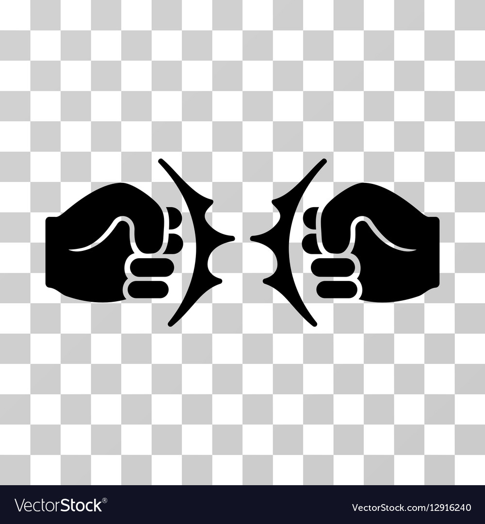 Fist Fight Icon Royalty Free Vector Image - VectorStock