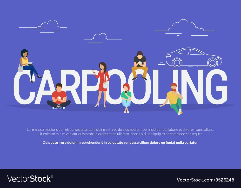Carpooling concept