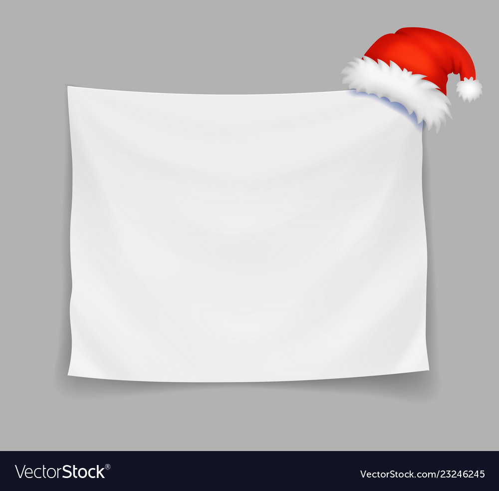 Christmas blank banner or greeting card