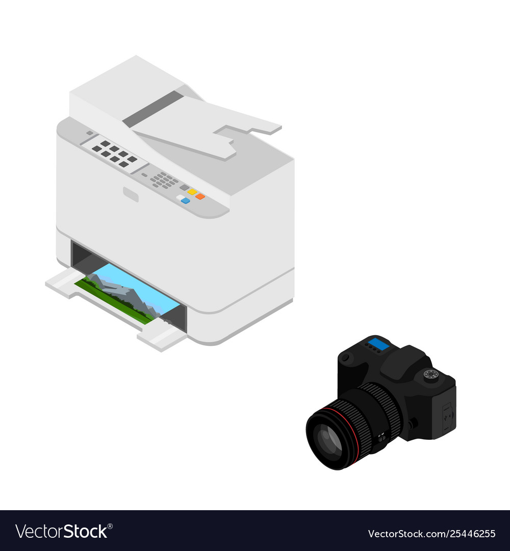 Realistic isometric printer