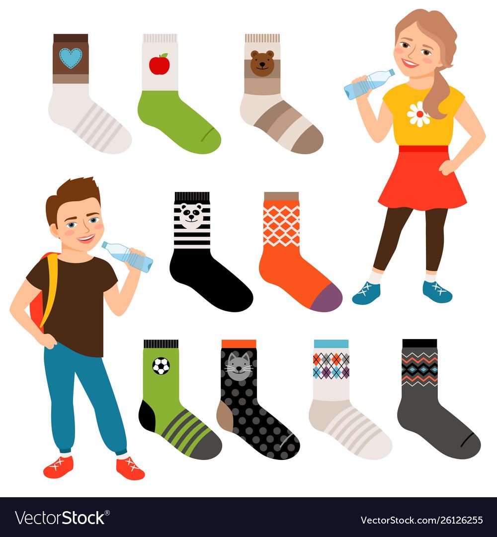 Socks for girls and boys